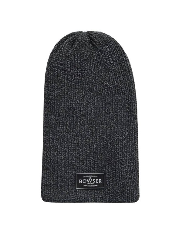 Large Dark Grey Beanie