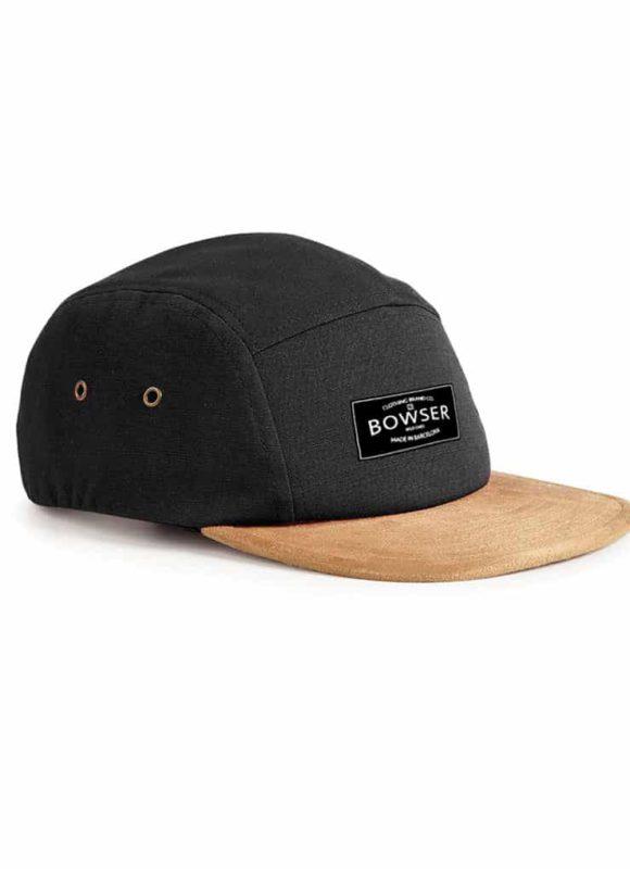 Cap Velvet Black