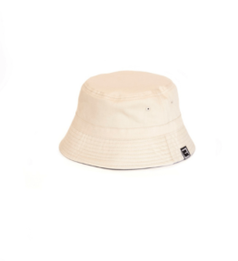 Bucket reversible Green/Beige