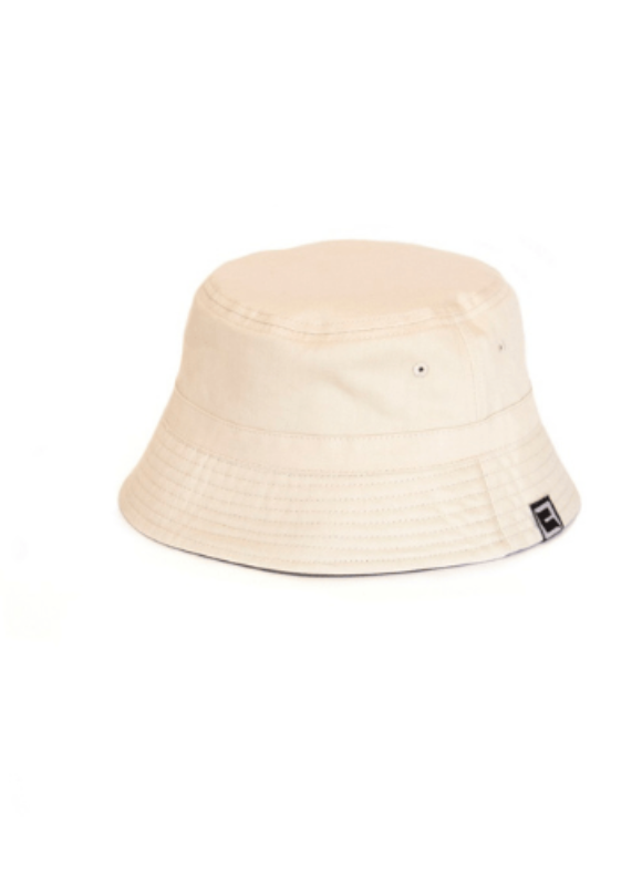 Bucket reversible Green/Beige