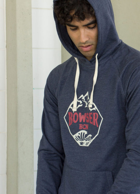 Hoodie Mountain Navy